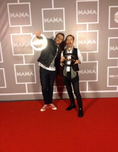 Vytautas Bikus, Robertas Semeniukas (M.A.M.A Lithuanian Music Awards)