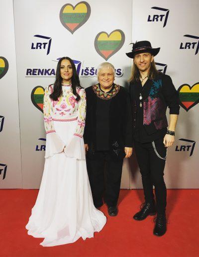 Robertas Semeniukas, Veronika Povilionienė, Sigita Jonynaitė