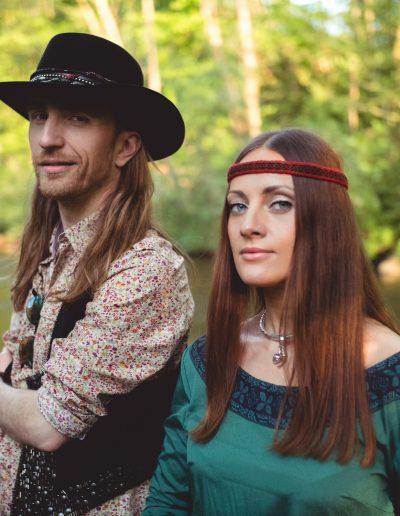 Sigita Jonynaitė & Robertas Semeniukas (Photo by Justas Šeibokas)