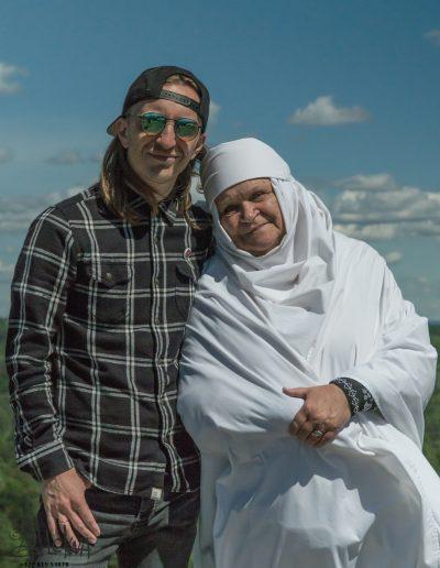 Veronika Povilionienė & Robertas Semeniukas (Photo by Mykolas Alekna)