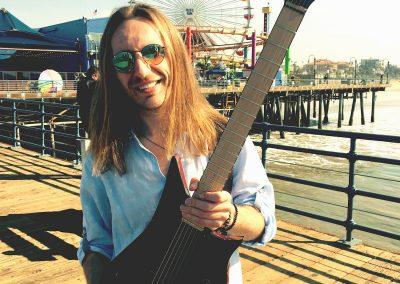 Robertas Semeniukas (Santa Monica, CA) Lava Drops Guitar