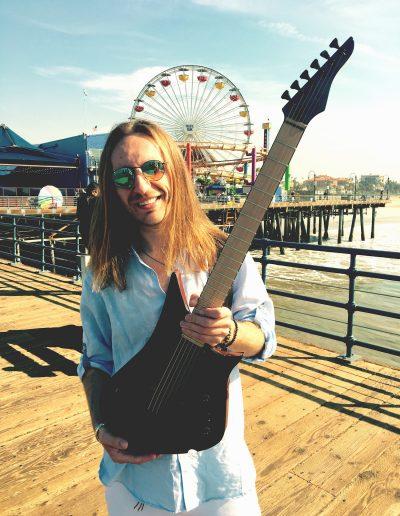 Robertas Semeniukas (Santa Monica, CA) Lava Drops Guitars