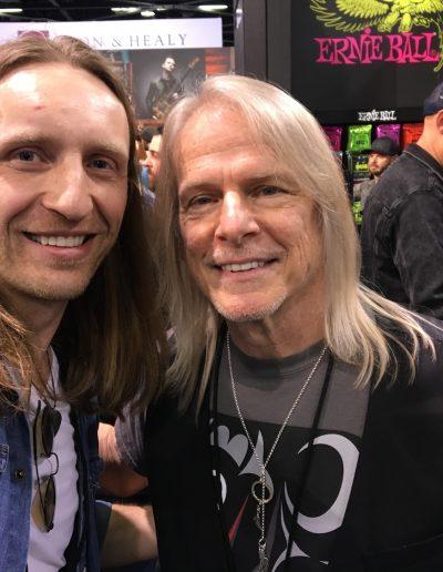 Steve Morse & Robertas Semeniukas (NAMM2020)