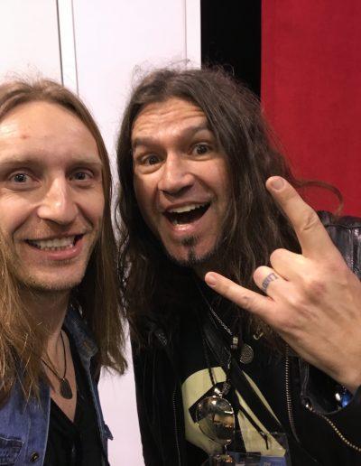 Phil X & Robertas Semeniukas (NAMM2020)
