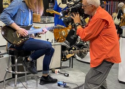 R.Semeniukas on CNN Report at NAMM 2020