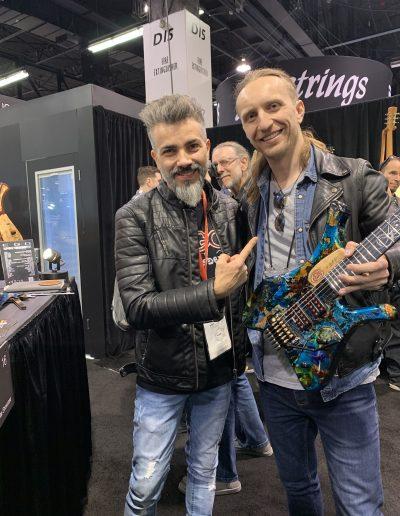 Marconilab Guitars & Robertas Semeniukas (NAMM2020)