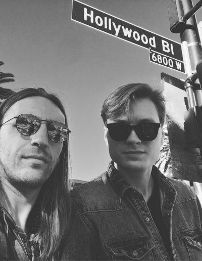 Rapolas Gražys & Robertas Semeniukas (Los Angeles)